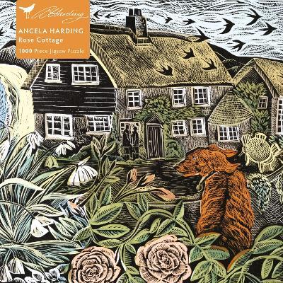 Angela Harding Rose Cottage 1000 Jigsaw
