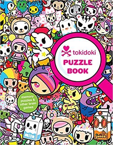 Tokidoki Puzzle Book