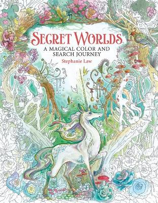 Secret Worlds: A Magical Color and Search Journey