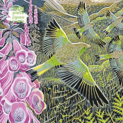 Adult Jigsaw Puzzle Annie Soudain: Foxgloves and Finches: 1000-piece Jigsaw Puzzles