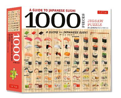 Guide to Japanese Sushi – 1000 Piece Jigsaw Puzzle