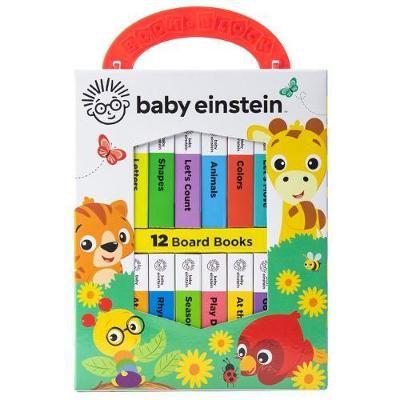 Baby Einstein: My First Library:12 Board Bok Set