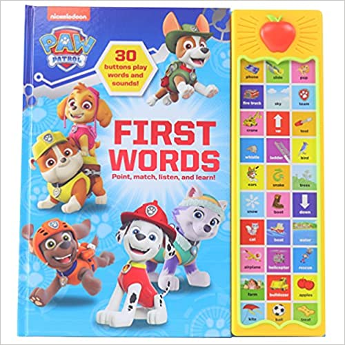Nickelodeon Paw Patrol: First Words
