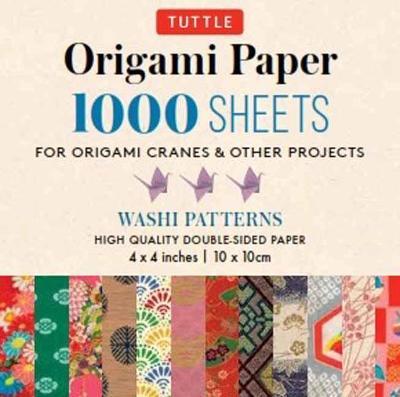 Origami Paper Japanese Washi 1,000 sheets 4″ (10 cm)