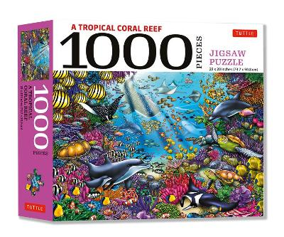 Tropical Coral Reef Marine Life – 1000 Piece Jigsaw Puzzle