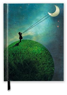 Catrin Weltz-Stein: Chasing the Moon (Blank Sketch Book)