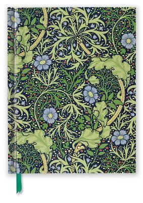 William Morris: Seaweed (Blank Sketch Book)