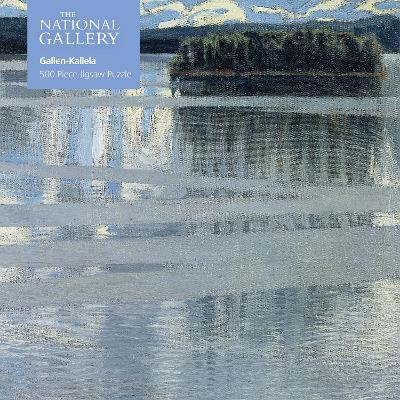 Adult Jigsaw Puzzle National Gallery: Lake Keitele by Akseli Gallen-Kallela (500 pieces)