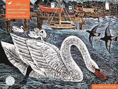 Adult Sustainable Jigsaw Puzzle Angela Harding: Southwold Swan