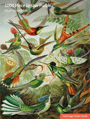 Adult Sustainable Jigsaw Puzzle V&A: Humming Birds