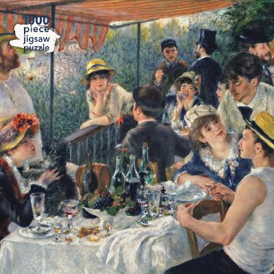 Adult Jigsaw Puzzle Pierre Auguste Renoir: Luncheon of the Boating Party