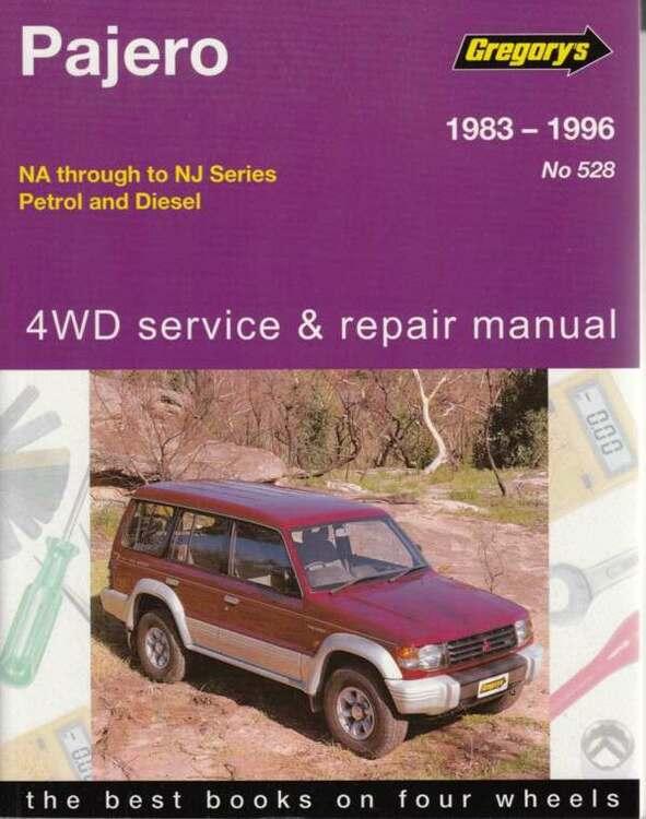 GM Mitsubishi Pajero NA to NJ 1983-