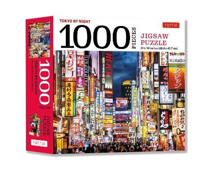 Tokyo By Night 1000 Jigsaw